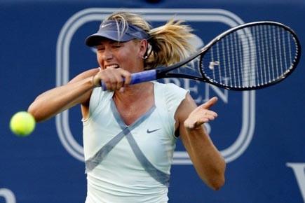 Maria Sharapova a effacé un deuxième set sans... (Photo: John Sommers II, Reuters)