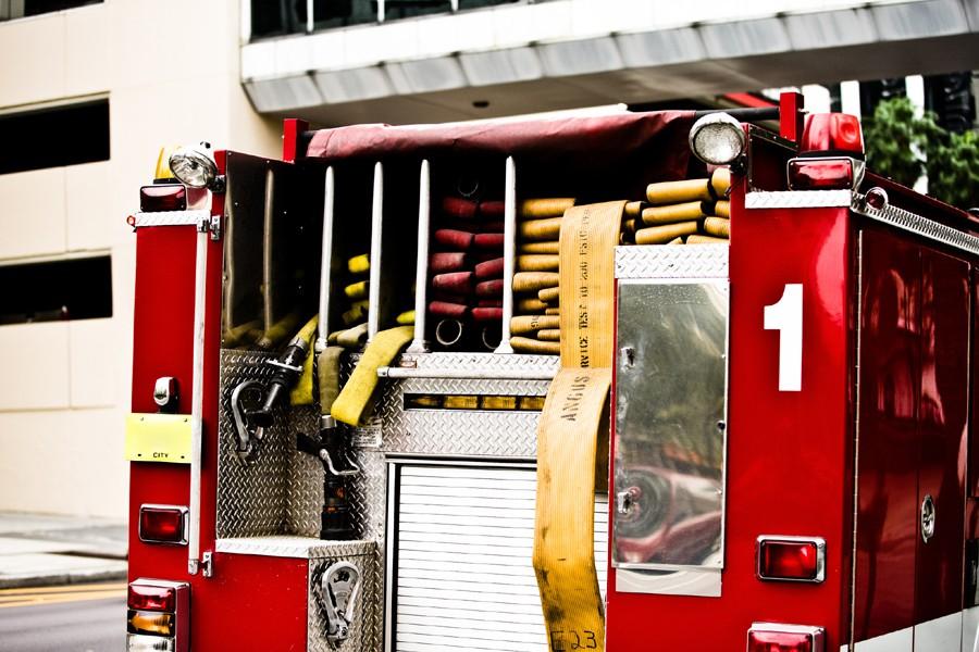 Les pompiers allemands ont dû voler au secours d'un... (Photothèque La Presse)