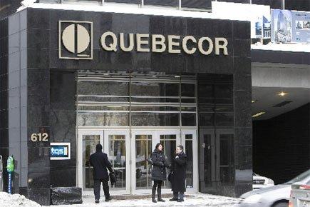 Le siège social de Quebecor à Montréal.... (Photo: Rémi Lemée, Archives La Presse)