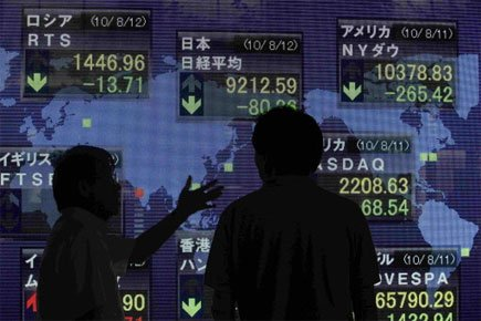 Le Nikkei 225 perdait 80,26 points, ou 0,9... (Photo: Reuters)