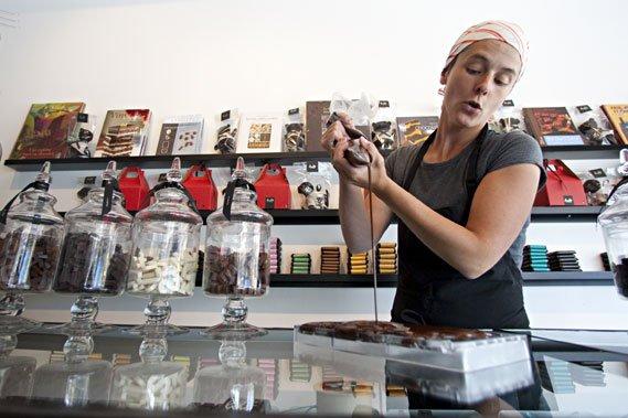 Le Comptoir Chocolat ne fait pas le chocolat... (Photo: François Roy, La Presse)