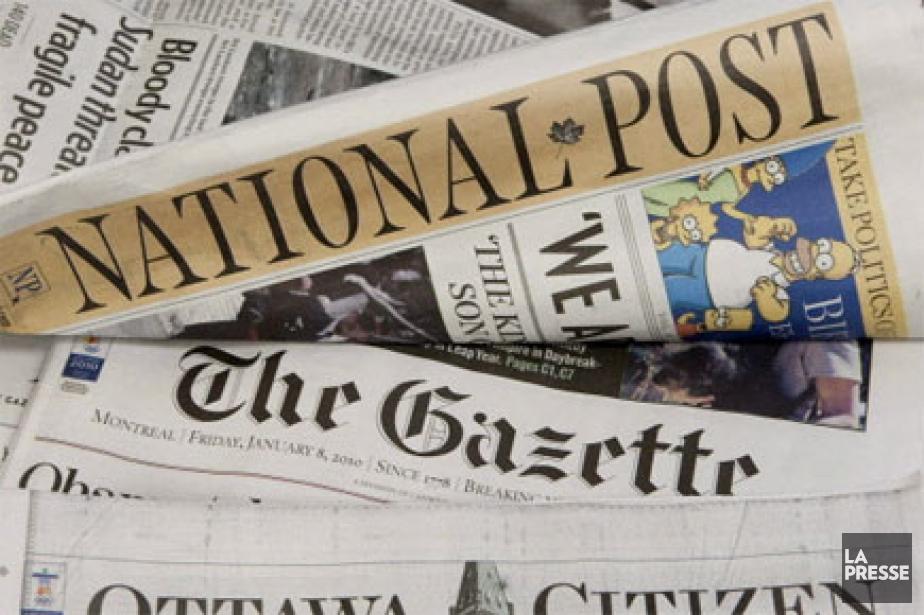 Le groupe Postmedia Network, formée des anciens journaux de... (Photo: PC)