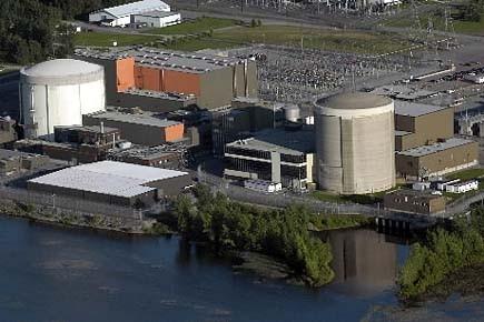 La centrale Gentilly-2, photographiée en 2008.... (Photo: archives Le Nouvelliste)