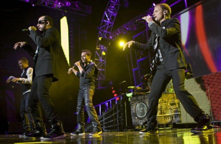 Brian, Howie, Nick et AJ en action. | 1 mars 2011