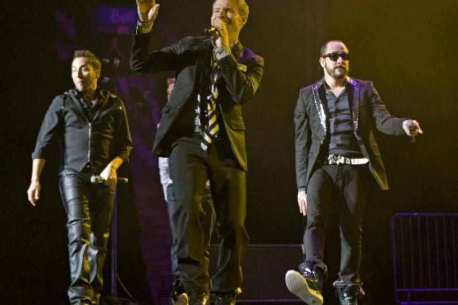 Les Backstreet Boys entrent en scène.... | 2011-03-01 00:00:00.000