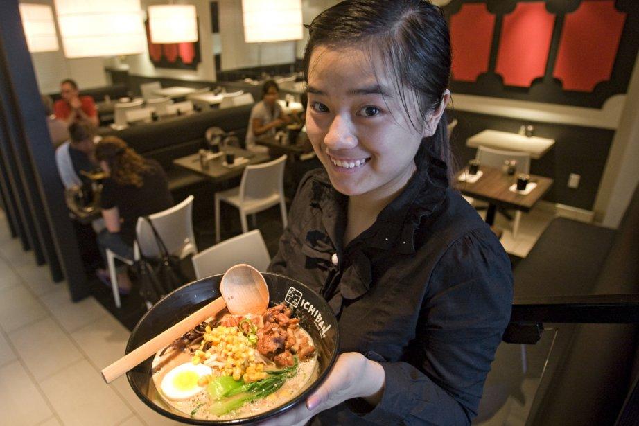 Ichiban n'est pas un restaurant de haute volée,... (Photo: David Boily, La Presse)