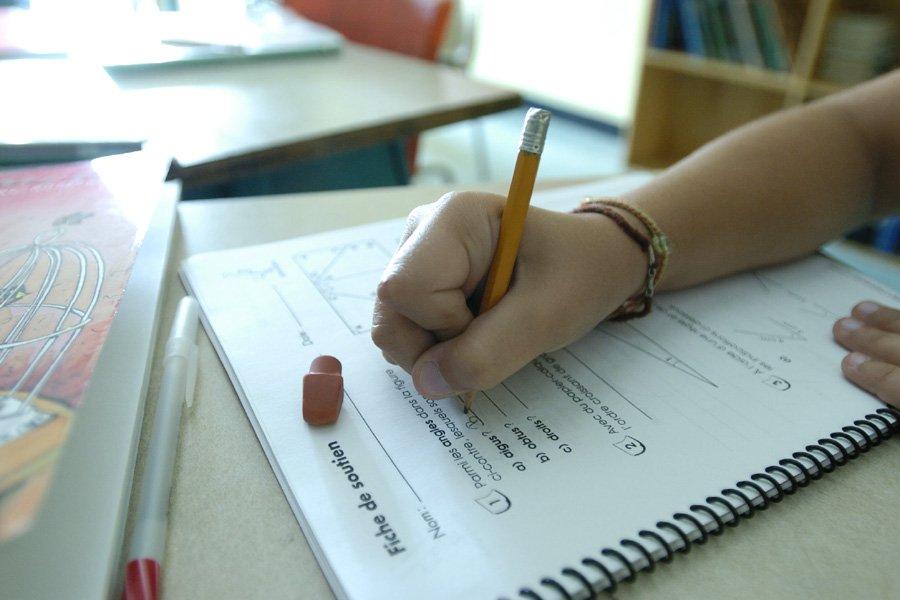 Pas question, toutefois, de décaler les efforts d'enseignement... (Photo: Alain Roberge, Archives La Presse)