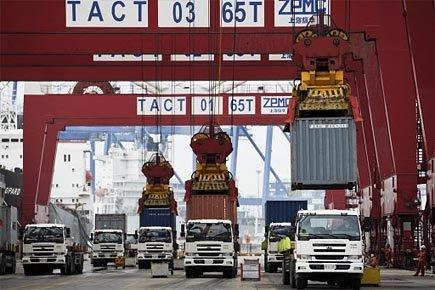 Le déficit commercial américain est reparti en forte hausse en... (Photo: AP)