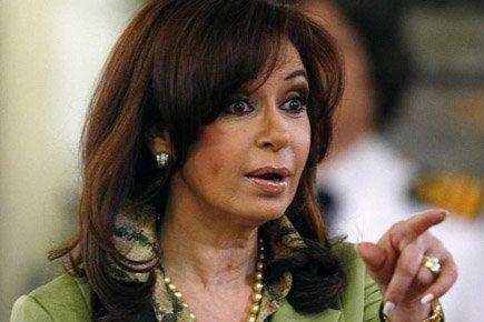 La présidente de l'Argentine, Cristina Kirchner.... (Photo: Reuters)