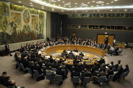 Le Conseil de sécurité de l'ONU.... (Photo: AFP)