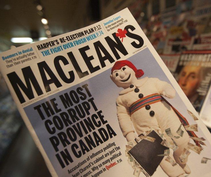 L'article du magazine Maclean's a fait réagir plus... (Archives La Presse Canadienne)