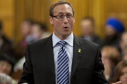 Le ministre de la Défense Peter MacKay a... (Photo: Archives PC)