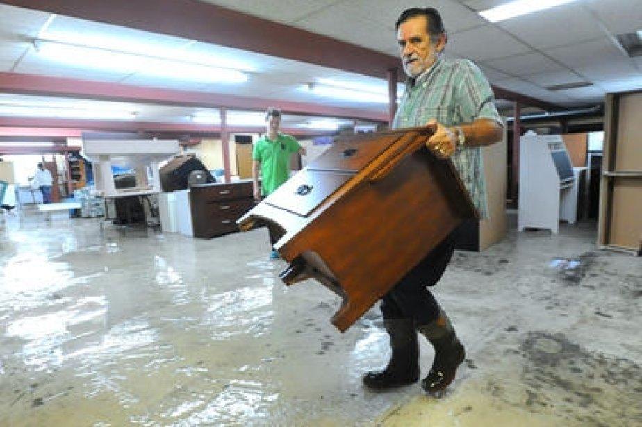 Les inondations en r gion cyberpresse for Meuble chez brick sherbrooke