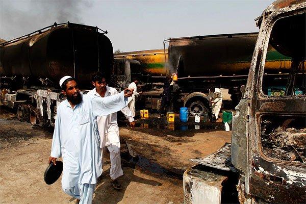 Les derniers incidents graves à la frontière afghano-pakistanaise... (Photo: AP)