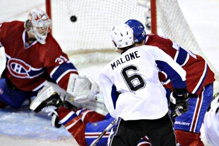 Ryan Malone a été la première étoile de... (Photo: Bernard Brault, La Presse)