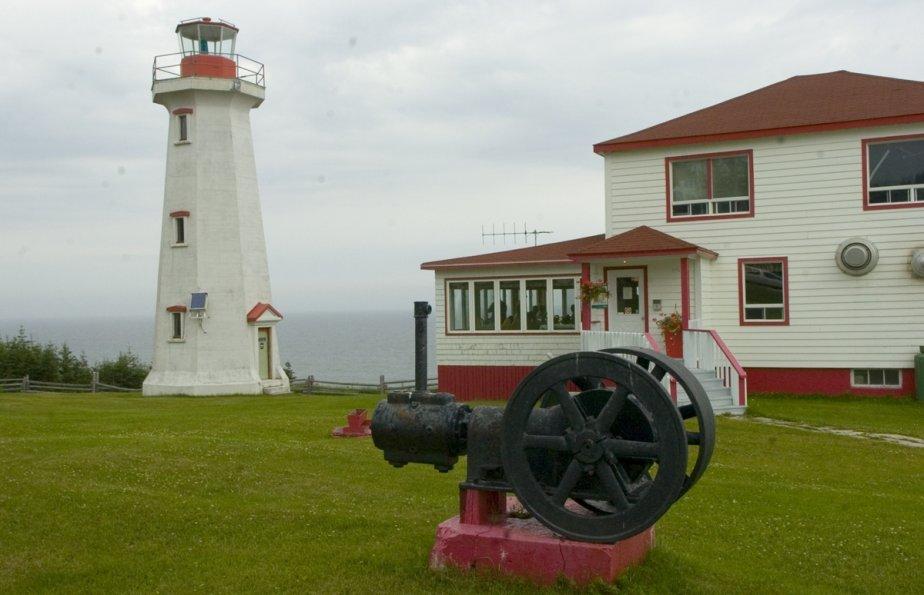 Le phare de Carillon à l'île d'Anticosti | 1 mars 2011
