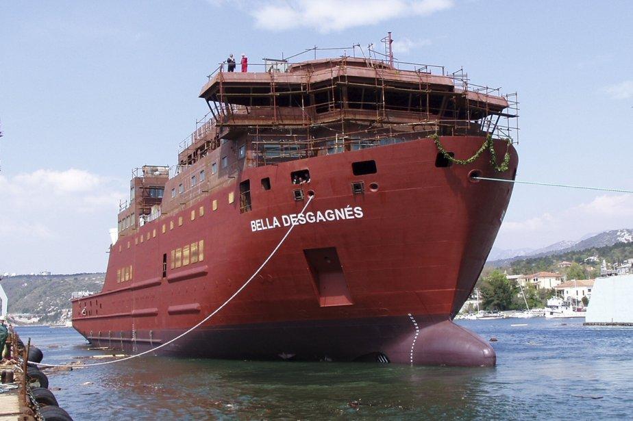 Bella Desgagnés, qui remplacera en 2011 le Nordik Express, disposera de certaines installations intérieures dignes d'un paquebot de croisière. | 1 mars 2011