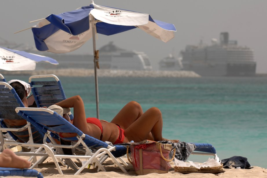 Une plage de la Barbade... (Photo: Bernard Brault, archives La Presse)