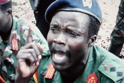Joseph Kony et deux autres chefs de la... (PHOTO ARCHIVES REUTERS)