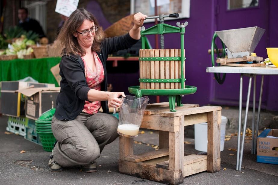 L'association Organiclea, pour laquelle travaille Marlene, a récolté... (Photo: AFP)