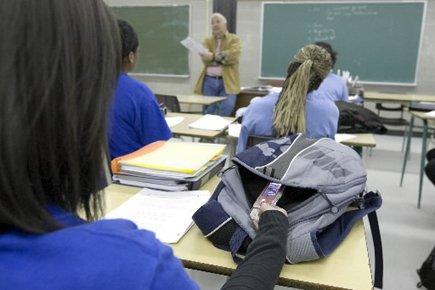 Contrairement aux écoles du réseau public, les écoles... (Photo: Alain Roberge, Archives La Presse)