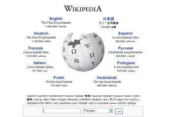 Disponible en 270 langues, Wikipedia, qui ne contient... (Photo: Wikipedia)
