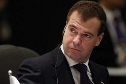 Dmitri Medvedev... (Photo: Archives AFP)