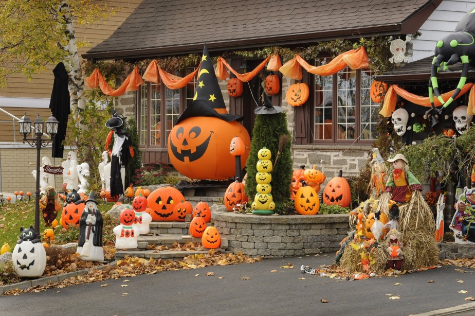 D coration maison halloween - Decoration halloween maison ...