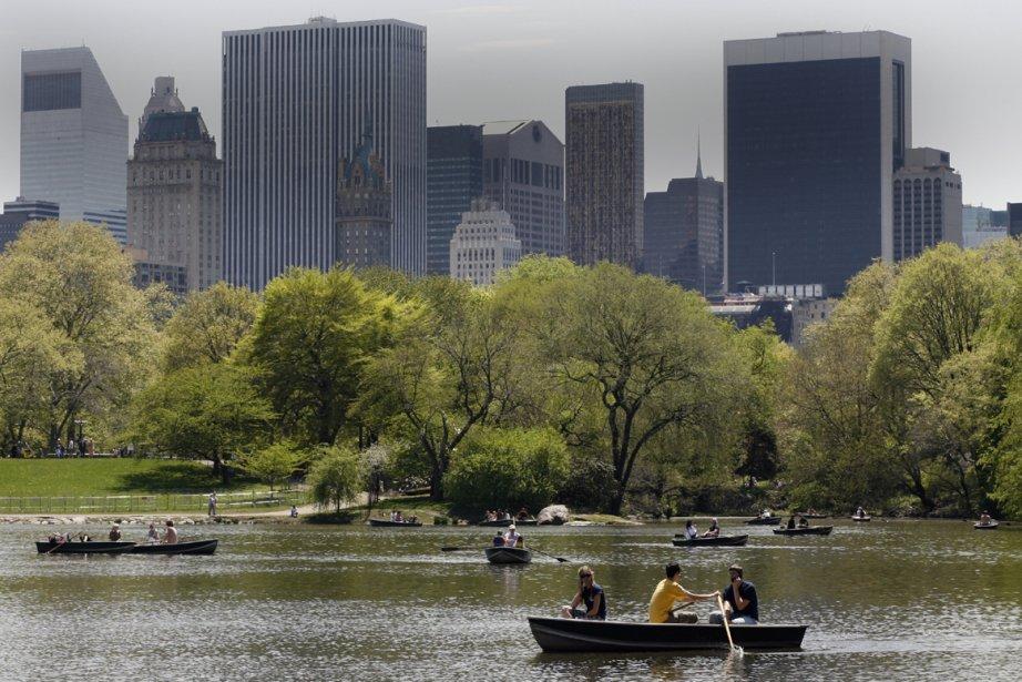 Le Central Park de New York l'été... (Photo: François Roy, La Presse)