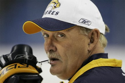 L'entraîneur des Sabres de Buffalo, Lindy Ruff.... (Photo: PC/AP David Duprey)