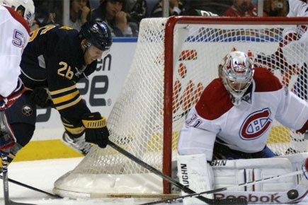 Les Sabres ont disputé un bon match. Ils... (Photo: Reuters)
