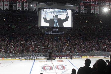 Le Canadien a rendu un hommage à Pat... (Photo: PC)