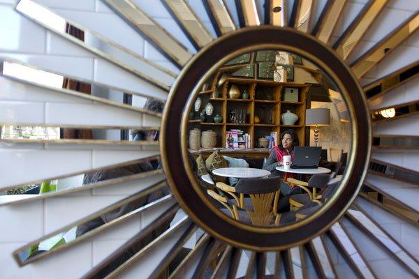 Le café Parenthèses... (Photo: Alain Roberge, La Presse)