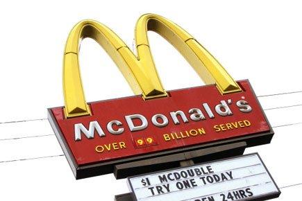 Les ventes des restaurants comparables de McDonald's se sont... (Photo: AP)