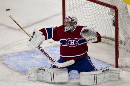 Carey Price sera devant le filet. Il tentera... (Photo: André Pichette, La Presse)