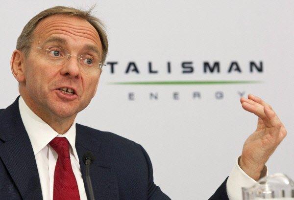 John Manzoni, PDG de Talisman Energy.... (Photo Canadian Press)