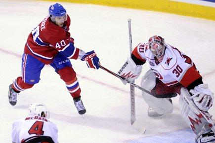 En 17 matchs de saison régulière contre Montréal,... (Photo: Bernard Brault, La Presse)