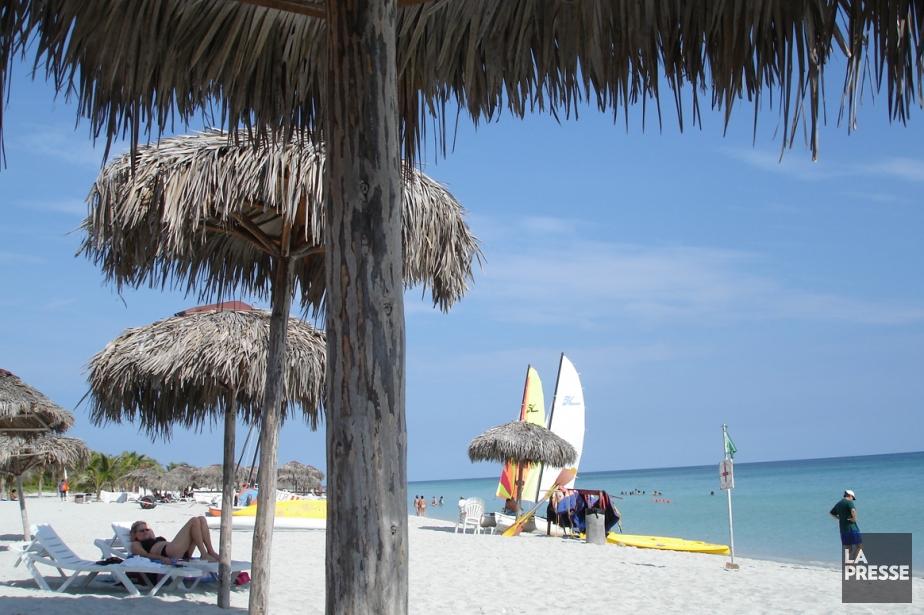 Une plage de Varadero, à Cuba... (PHOTO MARTIN CHAMBERLAND, ARCHIVES LA PRESSE)