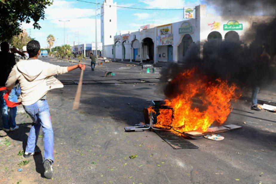 Voici un rappel des événements en Tunisie, où le président Ben... (Photo: AFP)