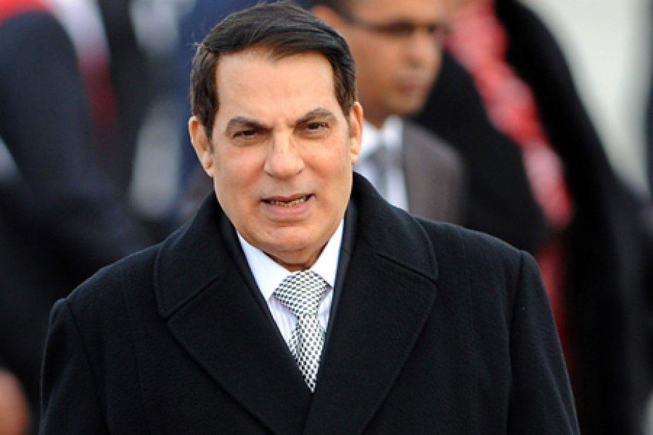 Le président tunisien déchu Zine El Abidine Ben... (Photo: AFP)