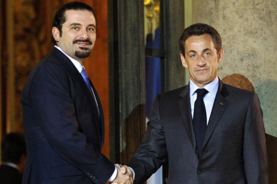 Le premier ministre libanais Saad Hariri a rencontré... (Photo: AFP)