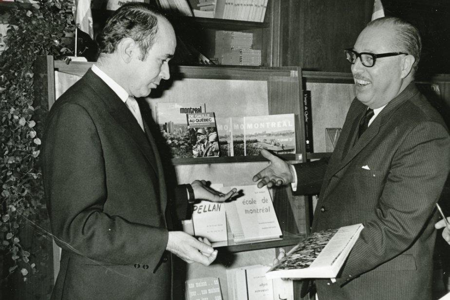 Jacques Hébert et Pierre Tisseyre.... (Photo: archives La Presse)
