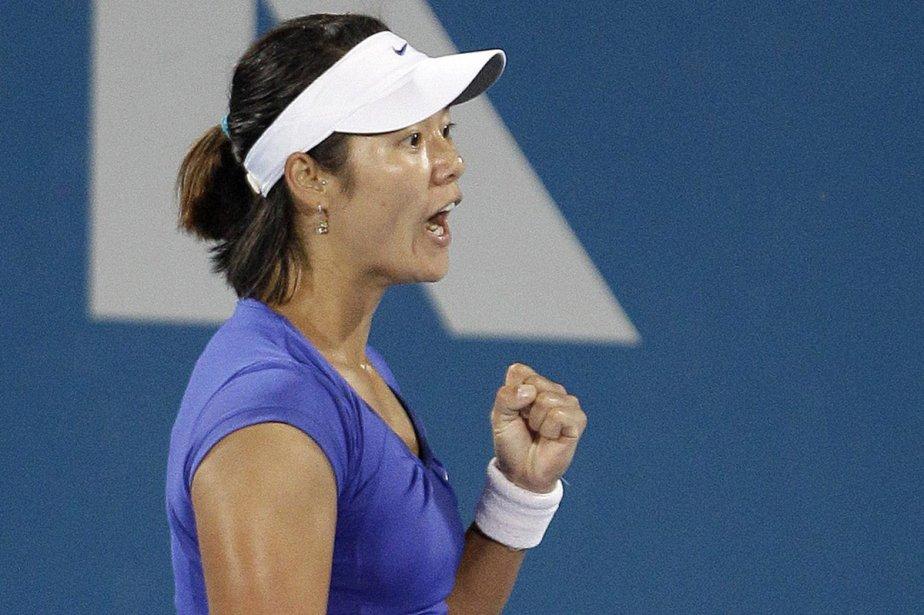 Li Na... (Photo: AFP)