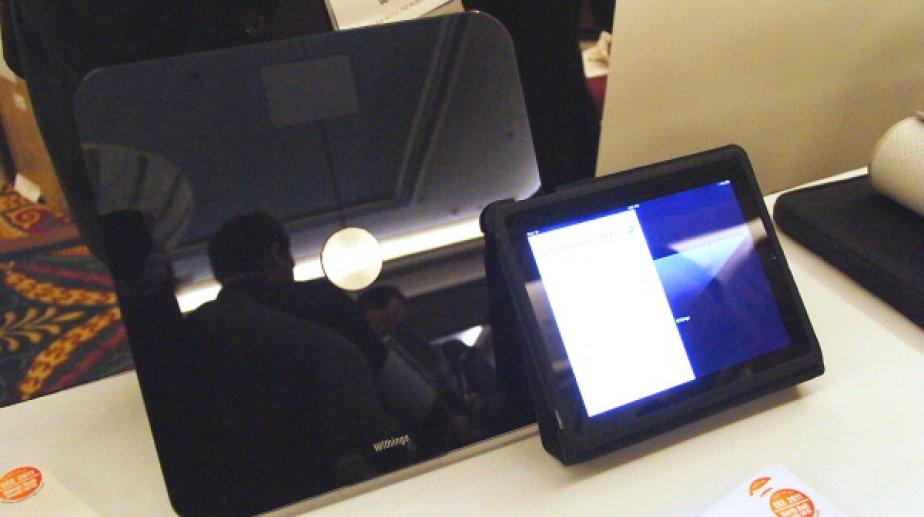 Pèse-personne Wi-Fi de Withings... (Photo: Alain McKenna, collaboration spéciale)