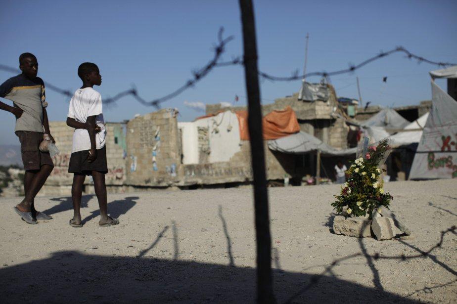L'avenir d'Haïti repose avant tout sur la construction... (PHOTO: EDOUARDO MUNOZ, REUTERS)