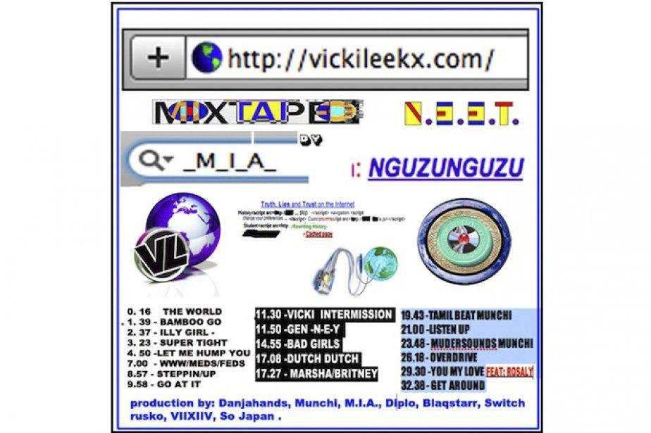 Pochette cd de M.I.A....