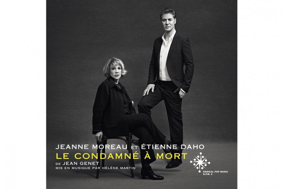Pochette cd de Jeanne Moreau et Daho...