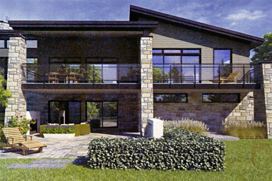 Maison familiale tanguay le style contemporain aux - Creer style minimaliste maison familiale ...