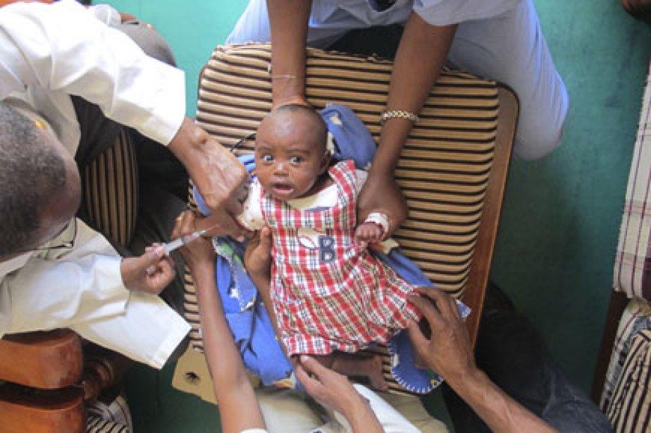 Tous les enfants qui arrivent à l'orphelinat sont... (Photo: Émilie Côté, La Presse)