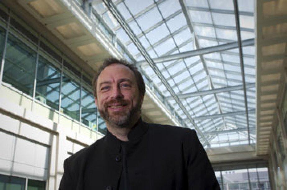 Le fondateur de Wikipédia, Jimmy Wales, a réussi... (Photo: André Pichette, La Presse)